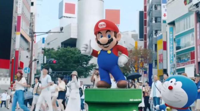 """<span class=""""entry-title-primary"""">¡Mario fue la estrella de la presentación de Tokyo 2020 en la clausura de Rio 2016!</span> <span class=""""entry-subtitle"""">Eso es sí es una entrada con estilo</span>"""