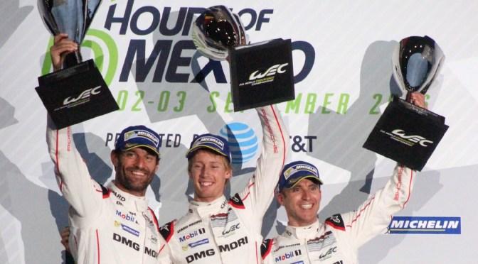 Porsche gana en México; RGR Sport estremece al público con su victoria en la categoría LMP2