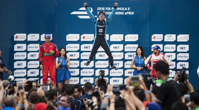 Buemi se lleva el Hong Kong ePrix, la carrera inaugural de la Fórmula E en la temporada 2016-2017
