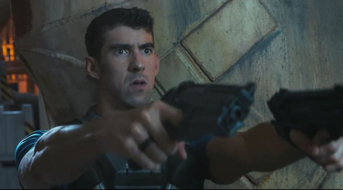 "<span class=""entry-title-primary"">Michael Phelps y Danny McBride se aparecen en el tráiler live-action de Call of Duty: Infinite Warfare</span> <span class=""entry-subtitle"">""Screw it, let's go to space""</span>"