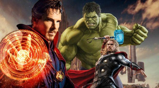 """<span class=""""entry-title-primary"""">¡Veremos a Doctor Strange en Thor: Ragnarok!</span> <span class=""""entry-subtitle"""">Thor, Hulk y Doctor Strange combatiendo maleantes en una película</span>"""