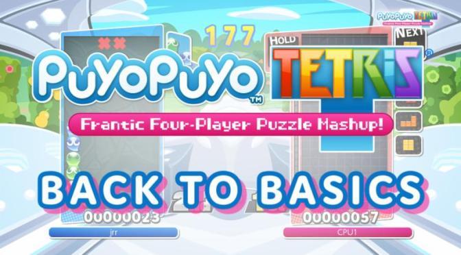 """<span class=""""entry-title-primary"""">¡Puyo Puyo Tetris! Revelan nuevo trailer Back to Basics.</span> <span class=""""entry-subtitle"""">SEGA nos muestra como dominar lo básico en su nuevo avance.</span>"""
