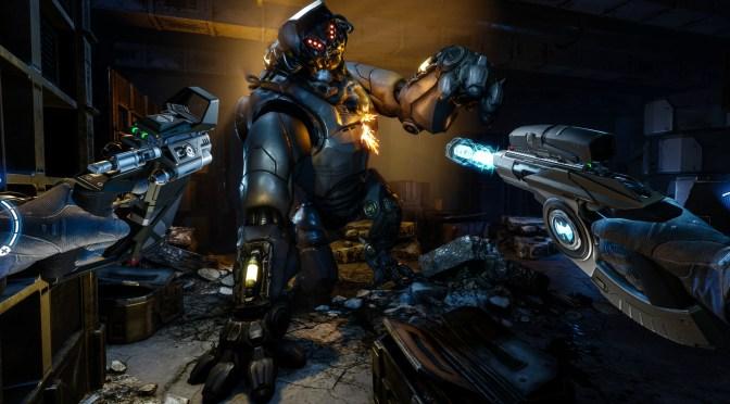 """<span class=""""entry-title-primary"""">¡ARKTIKA.1! Un juego AAA en VR llegará este año.</span> <span class=""""entry-subtitle"""">El Estudio 4A Games revelo nuevas imágenes e información de su shooter en VR.</span>"""