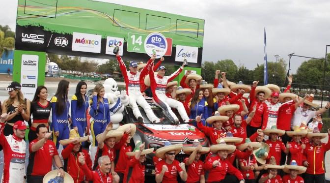 """<span class=""""entry-title-primary"""">Kris Meeke es el nuevo campeón del Rally Guanajuato México</span> <span class=""""entry-subtitle"""">En espectacular cierre de competencia, el británico obtiene su cuarto título en la máxima categoría de la especialidad</span>"""
