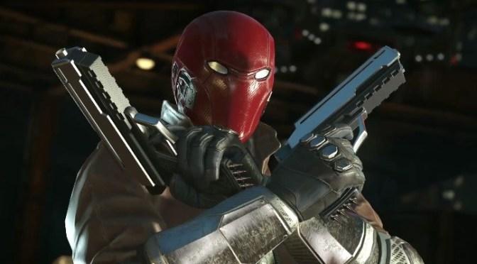 """<span class=""""entry-title-primary"""">Checa el gameplay de Red Hood en Injustice 2</span> <span class=""""entry-subtitle"""">No, no es puro pew pew</span>"""