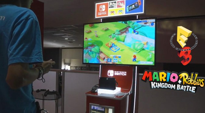 "<span class=""entry-title-primary"">[E3 2017] Hands-On: Mario+Rabbids: Kingdom Battle</span> <span class=""entry-subtitle"">El RPG de estrategia más cómico de todos</span>"