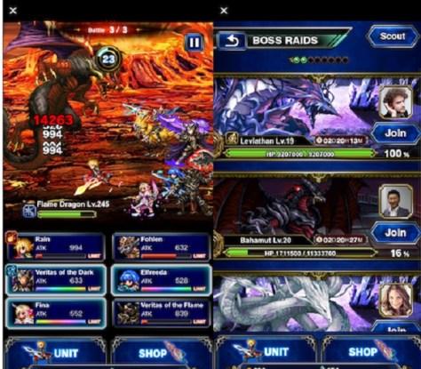 Final Fantasy Brave Exvius Tap