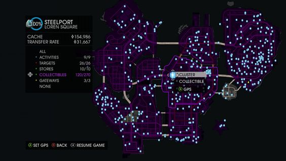 Saints Row 4 Clusters Locations Video Games Wikis Cheats Walkthroughs Reviews News Amp Videos