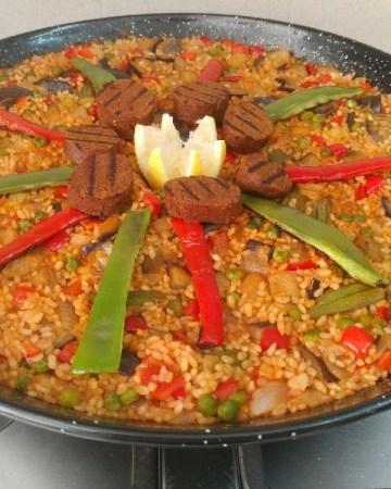 vegan paella recipe traditional style