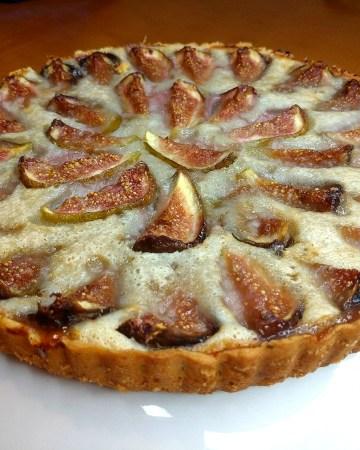 Vegan figs tart