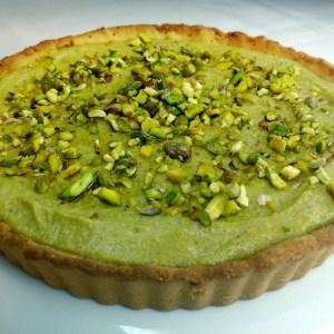 vegan and gluten free pistachio tart recipe
