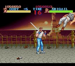 Final Fight - SNES - 1