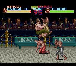 Final Fight - SNES - 2