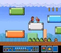 Super Mario Bros 3 - SNES