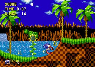 Sonic - Mega Drive