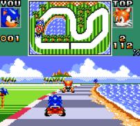 Sonic Drift - Game Gear