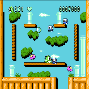Bubble Bobble 2 Screen
