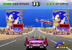 Sega Outrunners Start