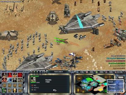 Star Wars Galactic BattleGrounds PC 2001