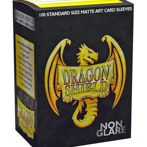 Dragon Shield: 20th Anniversary Non-Glare Matte Black (100)