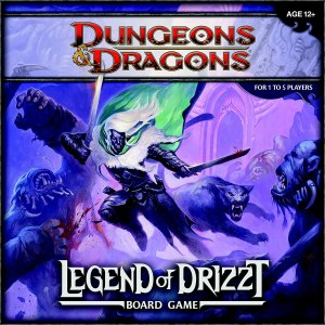 Dungeons & Dragons: The Legend of Drizzt – Board Game
