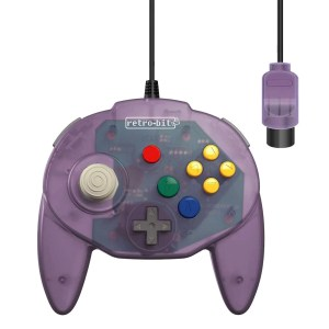N64 Retro-Bit: Tribute 64 Controller – Various Colors
