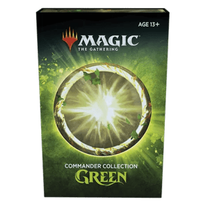 [PRE-ORDER] MAGIC: THE GATHERING: COMMANDER GREEN COLLECTION (NON-FOIL)