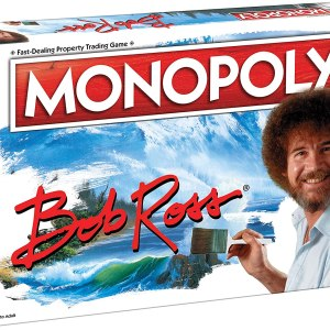 Monopoly Bob Ross | Collectible Monopoly Game Featuring Bob Ross Artwork | Officially Licensed Monopoly