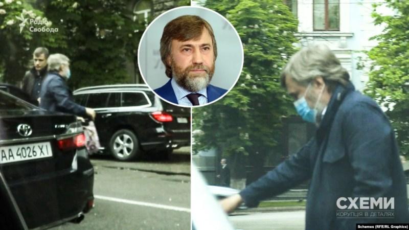 Зачем Новинский приезжал на Банковую?