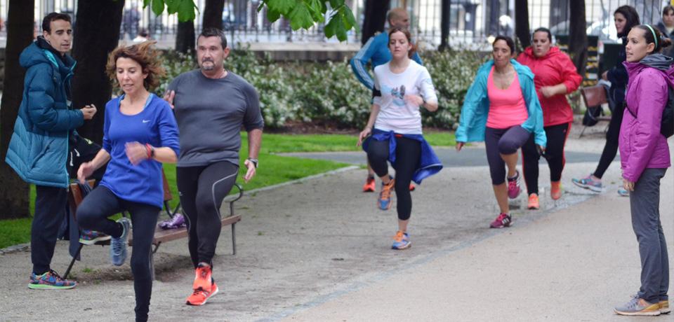 Grupo de Entranmiento Running Madrid - escuela VGRunning