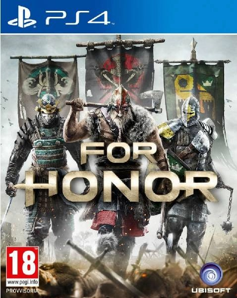 For Honor PS4 cover