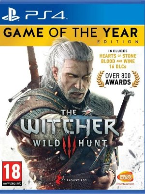 The Witcher 3 Wild Hunt Game Of The Year Edition PS4 cover