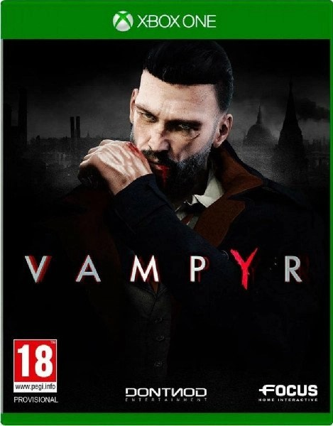 Vampyr Xbox One cover