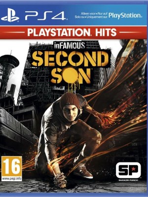 Infamous Second Sons Playstation 4 cover