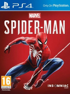 Spider-Man Playstation 4 cover