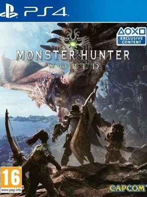 Monster Hunter World Playstation 4 cover