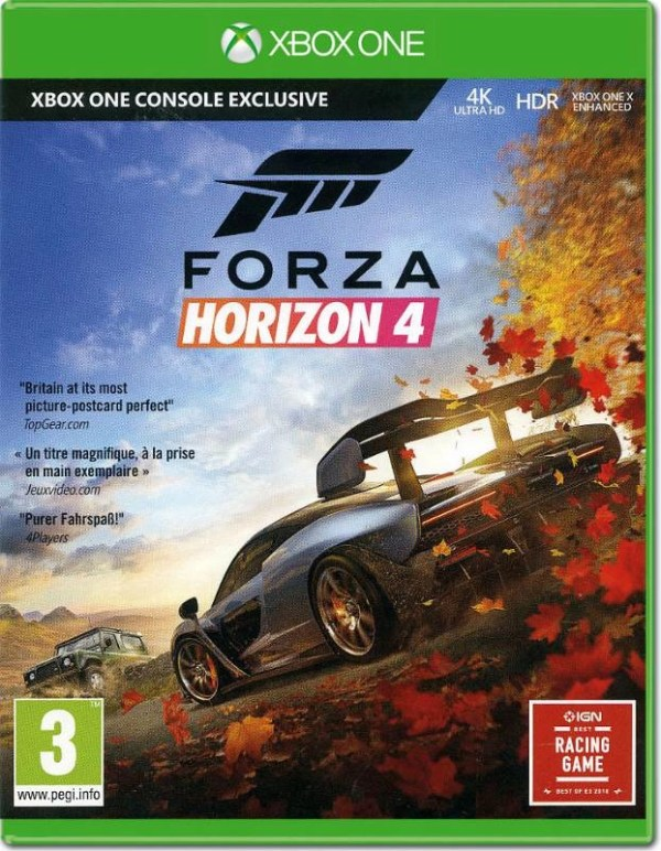 Forza Horizon 4 Xbox One cover