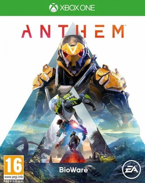 Anthem Xbox One cover