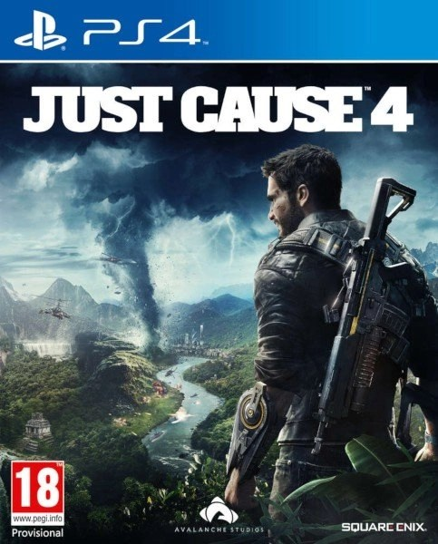 Just Cause 4 PlayStation 4 cover