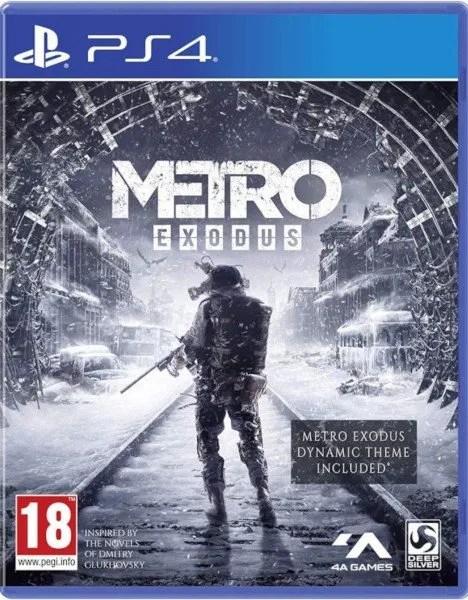 Metro Exodus Playstation 4 cover