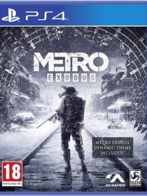 Metro Exodus Playstation 4 cover