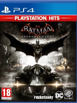 Batman Arkham Knight Playstation 4 cover