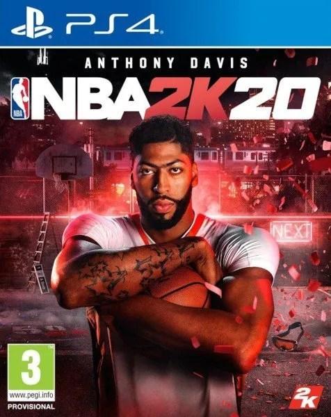 NBA 2K20 Playstation 4 cover