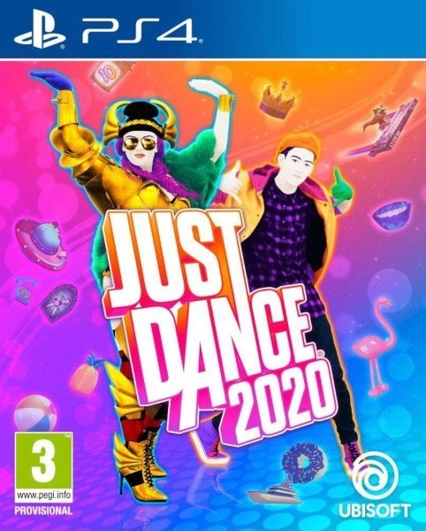 Just Dance 2020 Playstation 4 cover