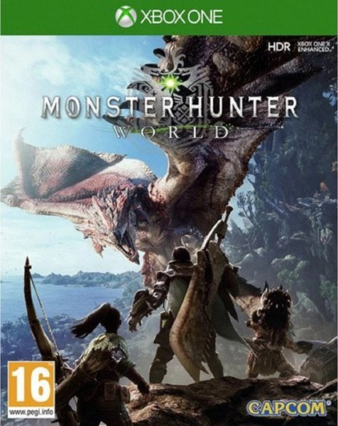 Monster Hunter World Xbox One cover