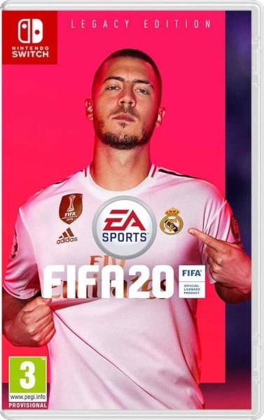 FIFA 20 Nintendo Switch cover