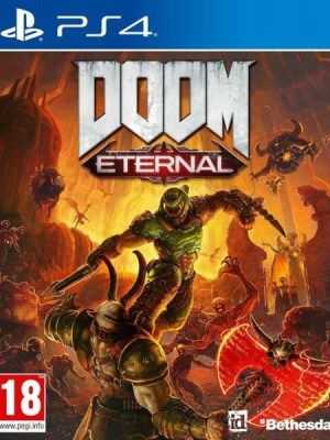 Doom Eternal Playstation 4 cover