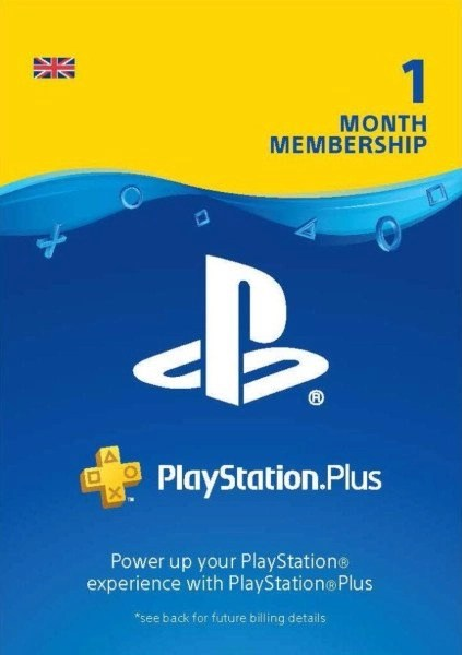 Playstation Plus 1 Month Cover