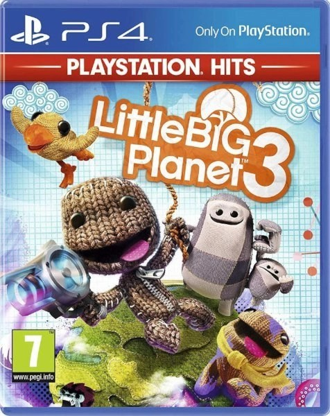 LittleBigPlanet 3 Playstation 4 cover