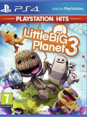 LittleBigPlanet 3 Playstation 4 cover